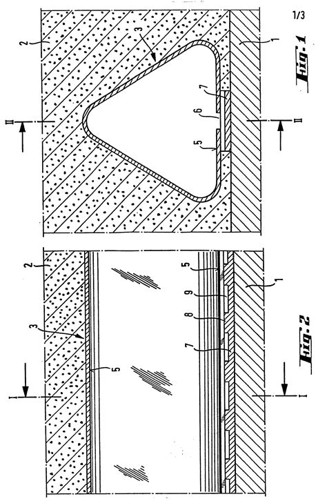 triangular cross section patent ep0040257b1 drainage pipe with triangular cross
