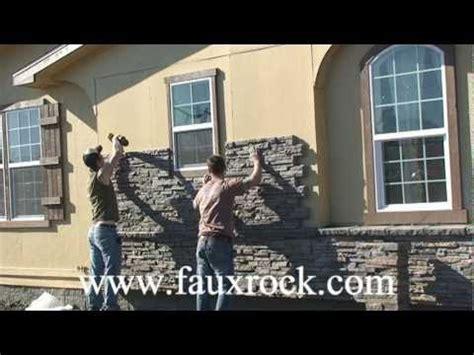 Fake Outdoor Stone Siding