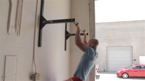 How To Build A Pull Up Bar In Garage by What S Better Ceiling Or Wall Mounting Pull Up Bar