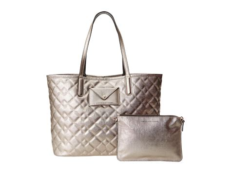 Marc Large Shiny Plastic Tote by Marc By Marc Metropolitote Quilted Metallic Tote 48