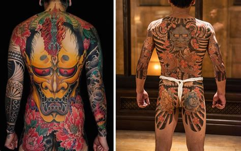 oni tattoo 16 fascinating yakuza tattoos and their symbolic