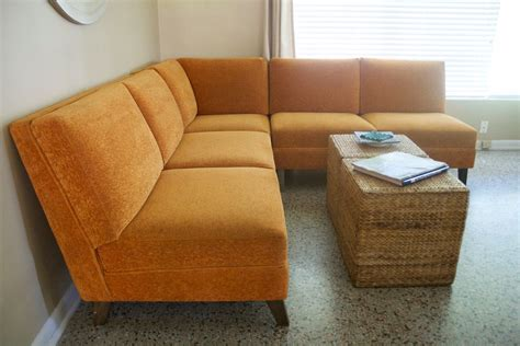 vintage mid century sofa mid century modern sectional sofa couch 1960s 1970s vintage