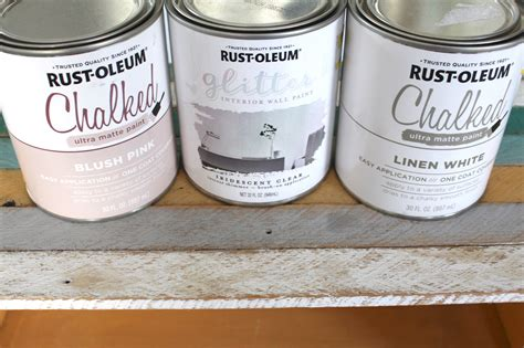 rust oleum chalk paint colours blushing coffee bar diy with glitter paint simple cozy charm