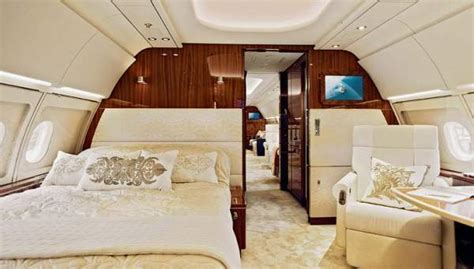 private jets with bedrooms quot amenities on private jet charter aircraft airplane