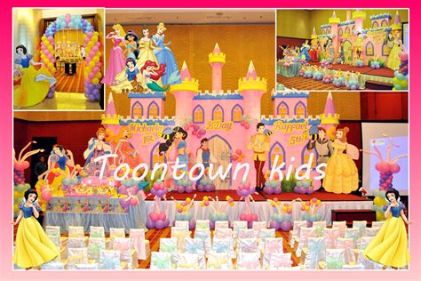 Mainan Anak Frozen Thematic Pool Hf018 A town decoration decorations for birthday