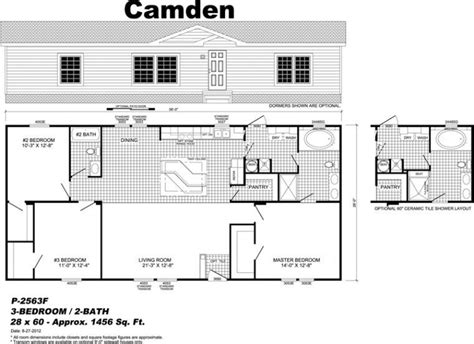 new live oak manufactured homes floor plans new home