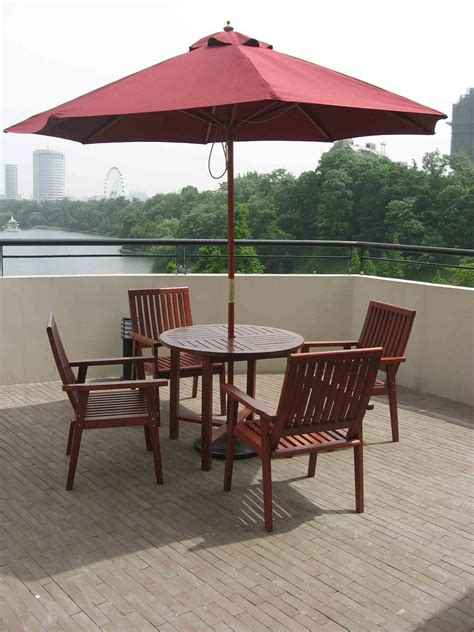 Umbrellas For Patio Furniture Outdoor Patio Furniture With Umbrella Jacshootblog