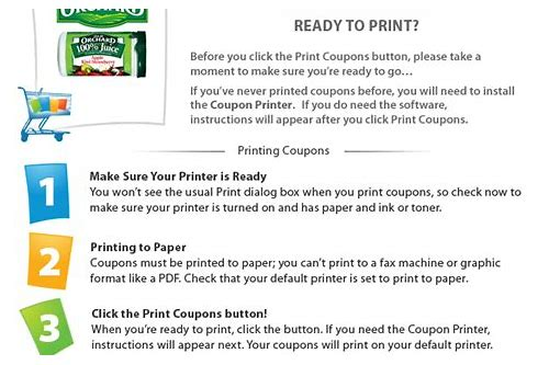 coupons.com printer troubleshooting