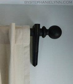 do it yourself curtain rods two it yourself 15 minute window valance and diy