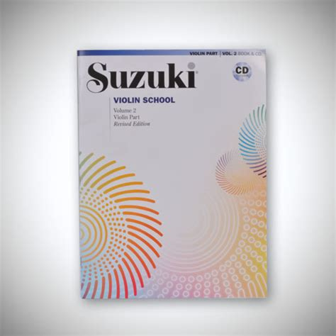 Suzuki Books Suzuki Violin Book With Cd Books Cds Triangle Strings