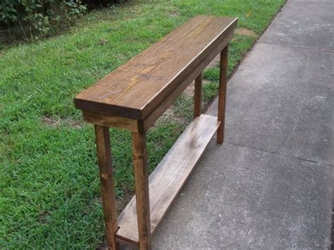 30 inch foyer table rustic console table narrow sofa table entryway