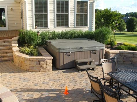 tub on patio maryland deck and tubs elite spa by maax provided by