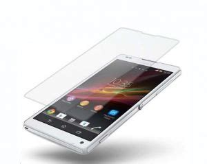 Glass M Screen Protector Xperia Z glass m premium tempered glass screen protector sony