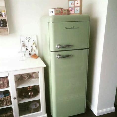 schaub lorenz fridge koelkast green kitchen smeg