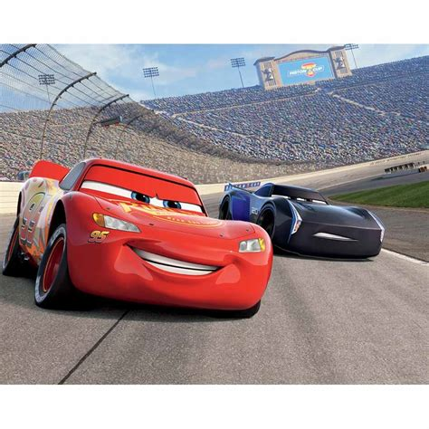 pedal to the metal disney pixar cars walltastic disney cars 3 wallpaper mural from design2please