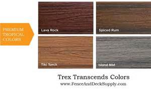 trex colors trex composite decking national decking supply