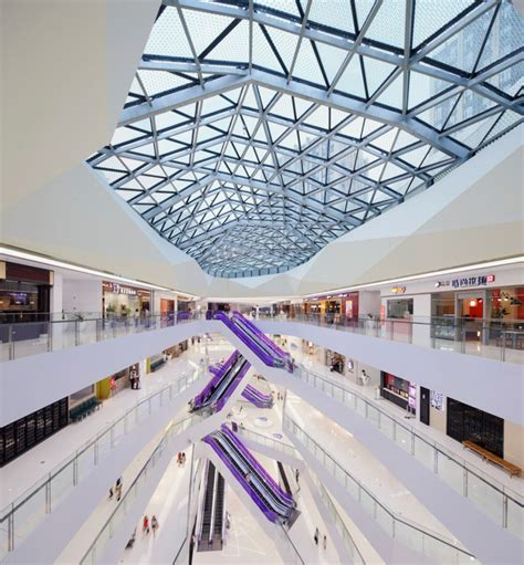 design shopping event zenith spark integrates fuzhou wusibei thaihot plaza in china