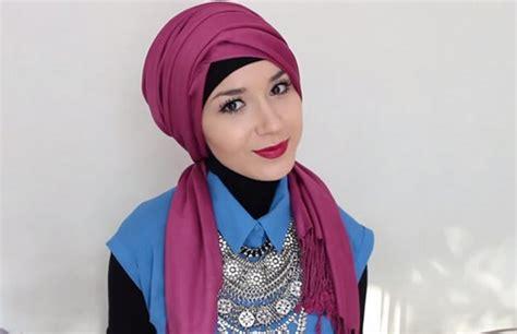 Gaul Dan Modis Inspirasi Turban by Cara Pakai Turban Cara Simple Memakai Jilbab Atau