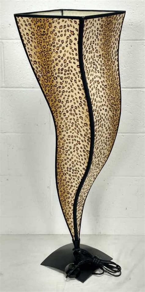 Leopard L Shades by Leopard Print Shade Floor L