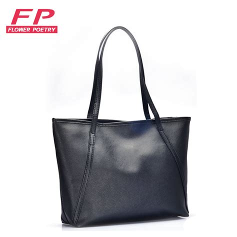 Tote Bag Big 2016 fashion big bags all match pu leather s handbag