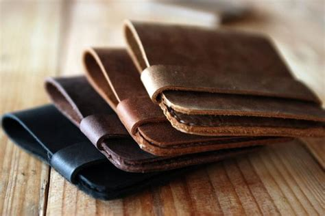 Wallet Leather Handmade - why go with leather wallets