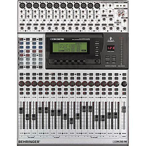behringer ddx3216 digital mixer musician s friend
