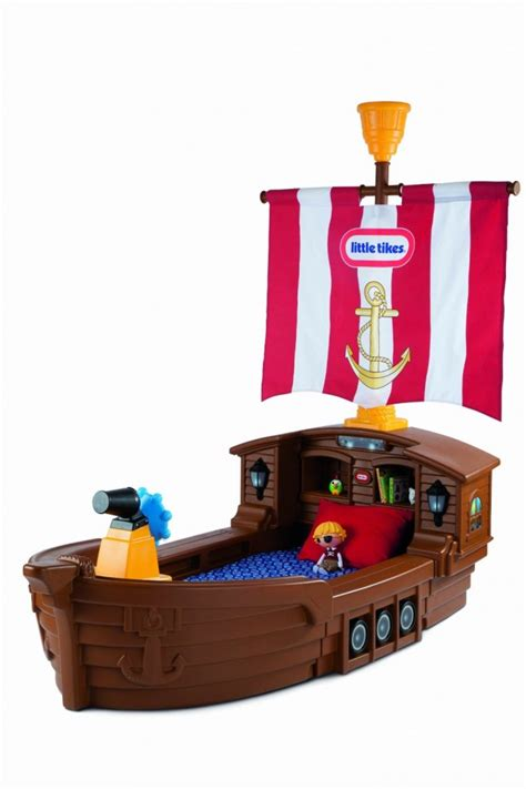 little tikes pirate ship toddler bed fun gifts for 2 year old boys