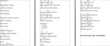 chord akad chord akad 28 images not angka katakan cinta prilly latuconsina pianika dan piano lirik top
