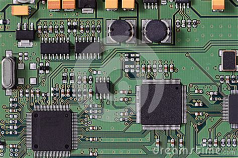 computer integrated circuit board integrated circuit board royalty free stock photo image 34337235