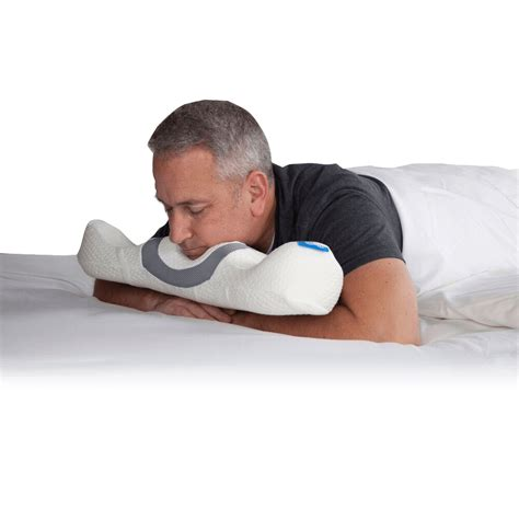 Pillows For Belly Sleepers by Stomach Sleeper Pillow Positioning Pillows And Cushions