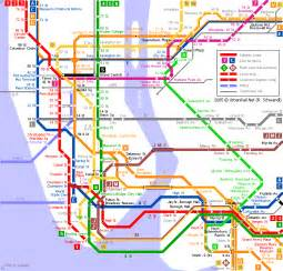 New York City Train Map by New York City Rail Map Submited Images