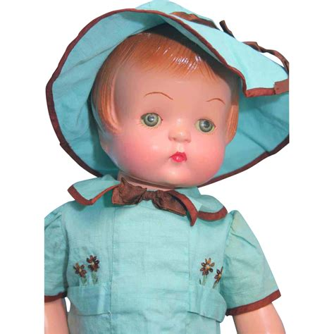 composition patsy doll effanbee patsy 19 quot composition doll circa 1929 from