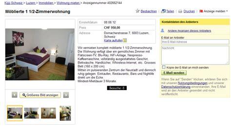 kijiji hamburg wohnung wohnungsbetrug 9 august 2012