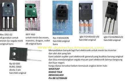 Trafo Las Inverter Las Fujiyama 900w Fw 160 Mma dokter las syifa teknik gambar part type dan harga