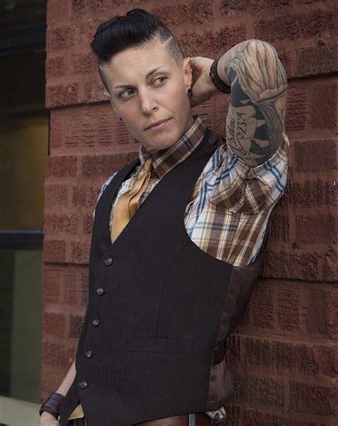 male rockabilly models butch androgynous boi queer dapper rockabilly model mack