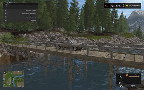 wooden bridge ls 2017 farming simulator 2017 17 mod