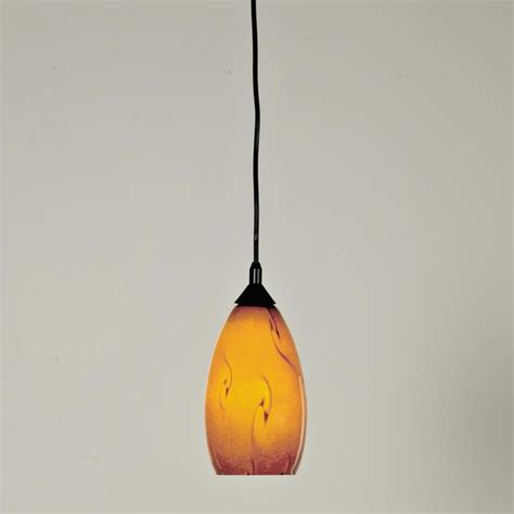 organic swirl glass pendant pendant lighting by