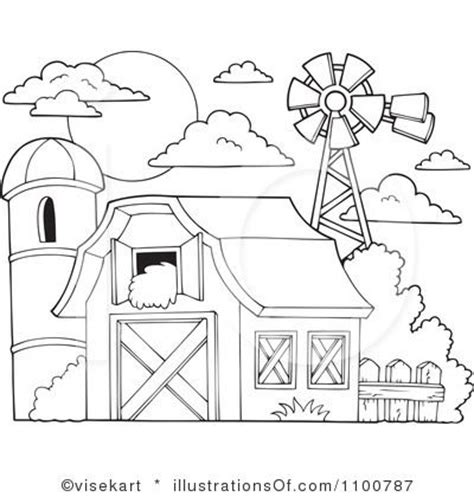 91 barn coloring pages with animals clip art of a black and white cartoon barn royalty free rf barn