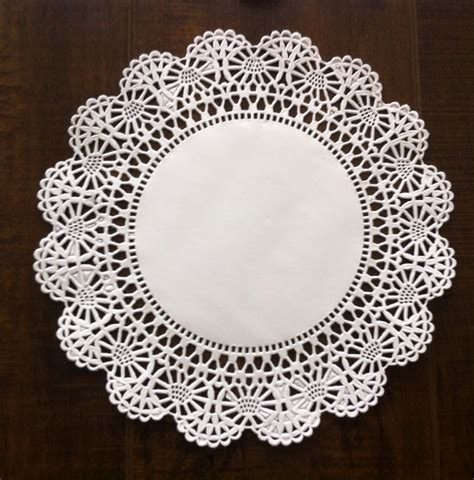 How To Make Paper Lace Doilies - 8 quot cambridge paper lace doilies white pack of 100 ebay