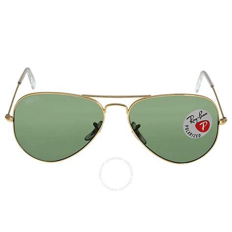 Ban Green Polarized ban aviator green polarized lens 58mm sunglasses