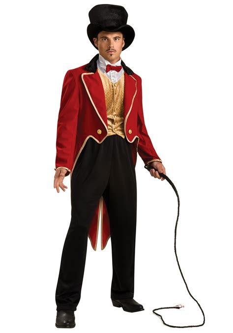 halloween costumes mens ringmaster costume