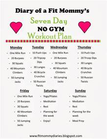 home exercise program workout plan on workout 10 week