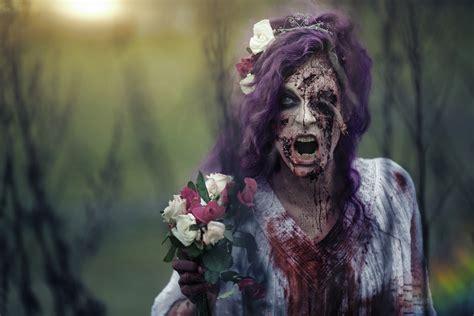 zombie sfx tutorial the zombie bride sfx makeup tutorial