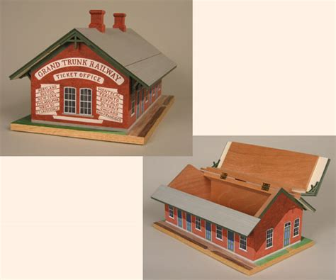 lewiston depot box by tom dahlke fork woodworks