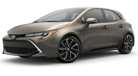 toyota corolla colors what colors does the 2019 toyota corolla hatchback come in
