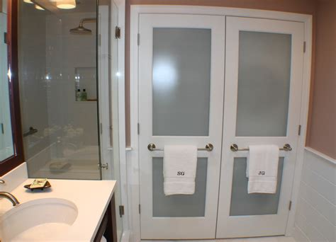 laundry closet doors Laundry Room Contemporary with