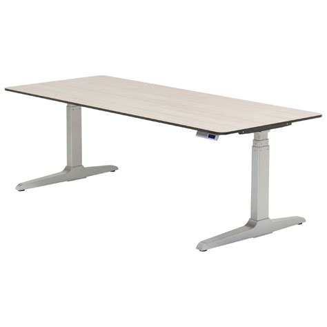 Shop Workrite Sierra Hx Rectangular Adjustable Height Desks Adjustable Desk