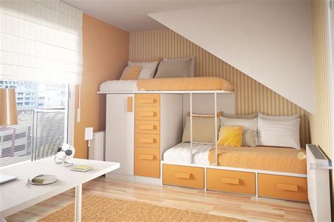 cool beds for small rooms 50 thoughtful teenage bedroom layouts digsdigs
