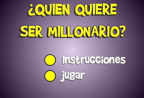 juegos con preguntas de cultura general aprender investigando el juego quot quieres ser millonario