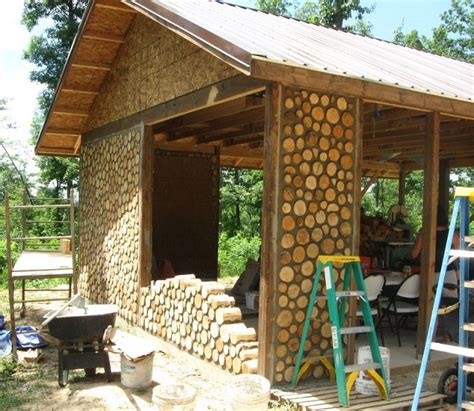 cordwood log cabins home design garden architecture